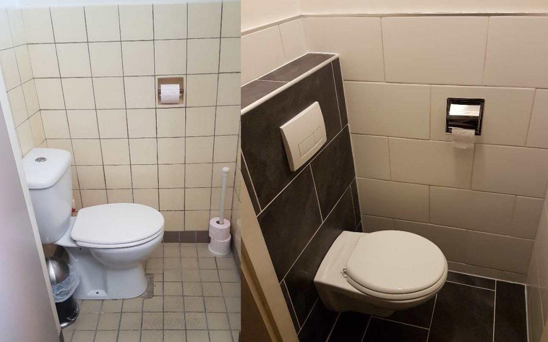 zelf toilet renoveren of verbouwen