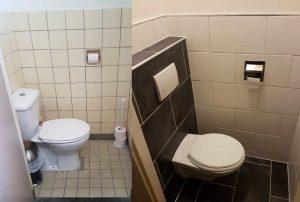 De toilet renovatie