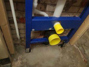 de toilet renoveren frame