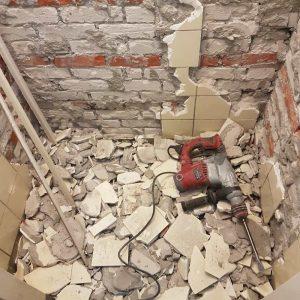 de toilet renoveren slopen